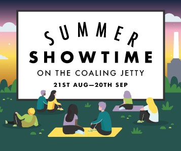 Summer Showtime on The Coaling Jetty